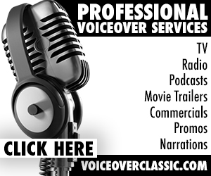 professional voiceovers